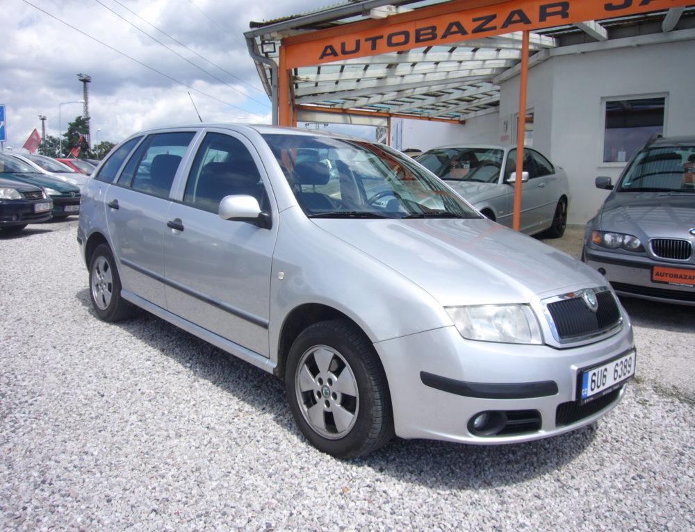 Škoda Fabia 1,9 TDi Combi PERFEKTNÍ STAV